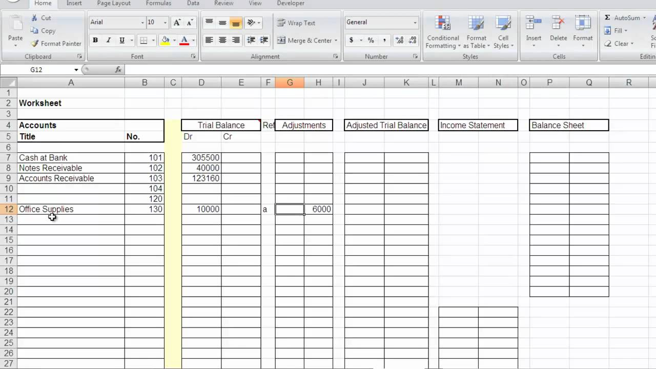 accountant lamp picture  accounting worksheet