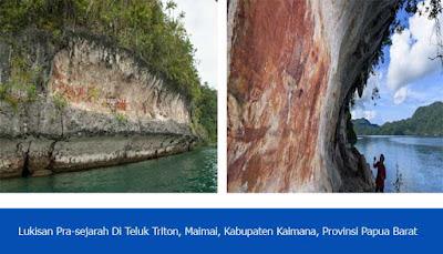 Lukisan Kuno Teluk Triton