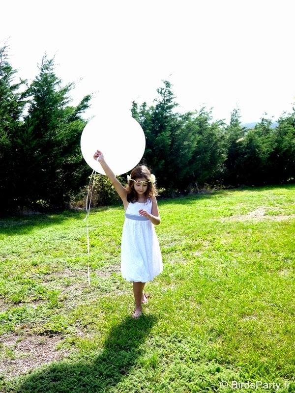 Gros Ballons Géants Ronds pour Anniversaire ou Mariage | BirdsParty.fr