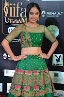 Nandita Swetha in a tight Green Choli Ghagra at IIFA Utsavam Awards March 2017 ~ 003.JPG