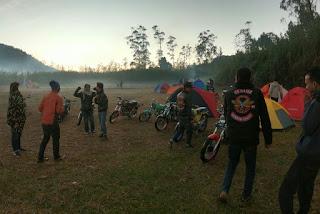 Komunitas Motor CB Wajit Bandung Barat Adakan Makrab
