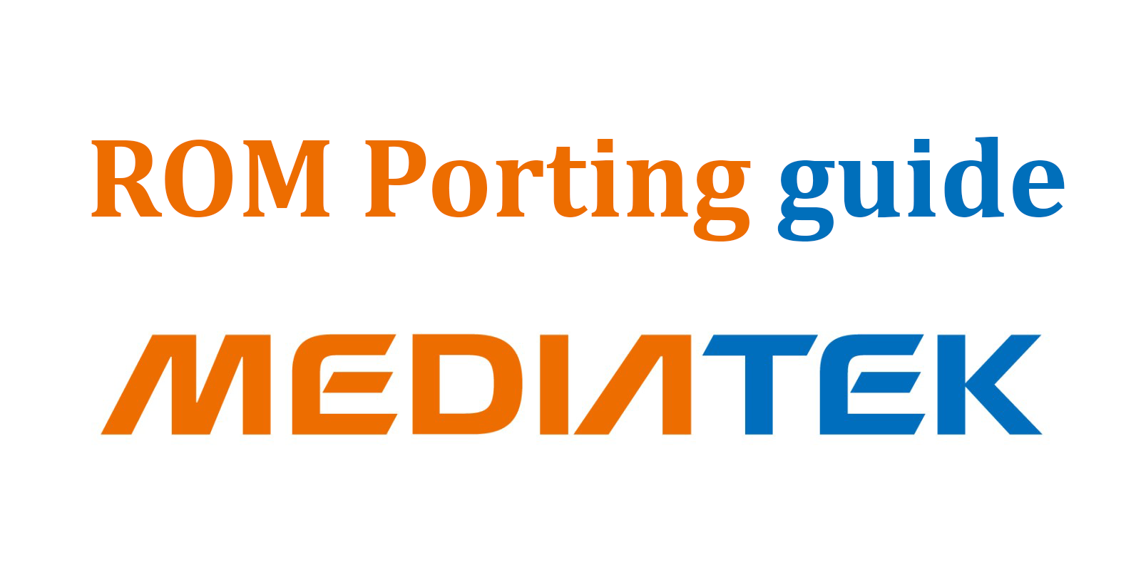 GANAS INDONESIA: Cara Port Rom MediaTek 6580