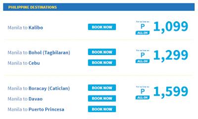 Cebu Pacific Air Promo