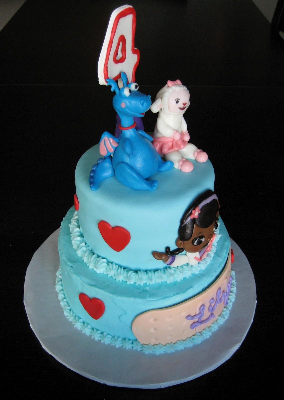 Custom Cakes By Julie Doc Mcstuffins Cake
