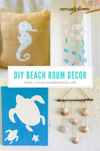 4 DIY Beach Room Decor Ideas