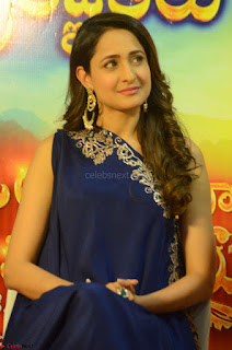 Pragya Jaiswal in beautiful Blue Gown Spicy Latest Pics February 2017 137.JPG