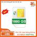Sim 3G dị nhân Viettel max băng thông 50k