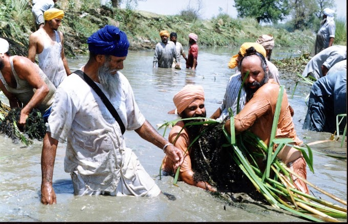 Meet The Man Whose Single Mission Cleaned Up A Dying River In Punjab…