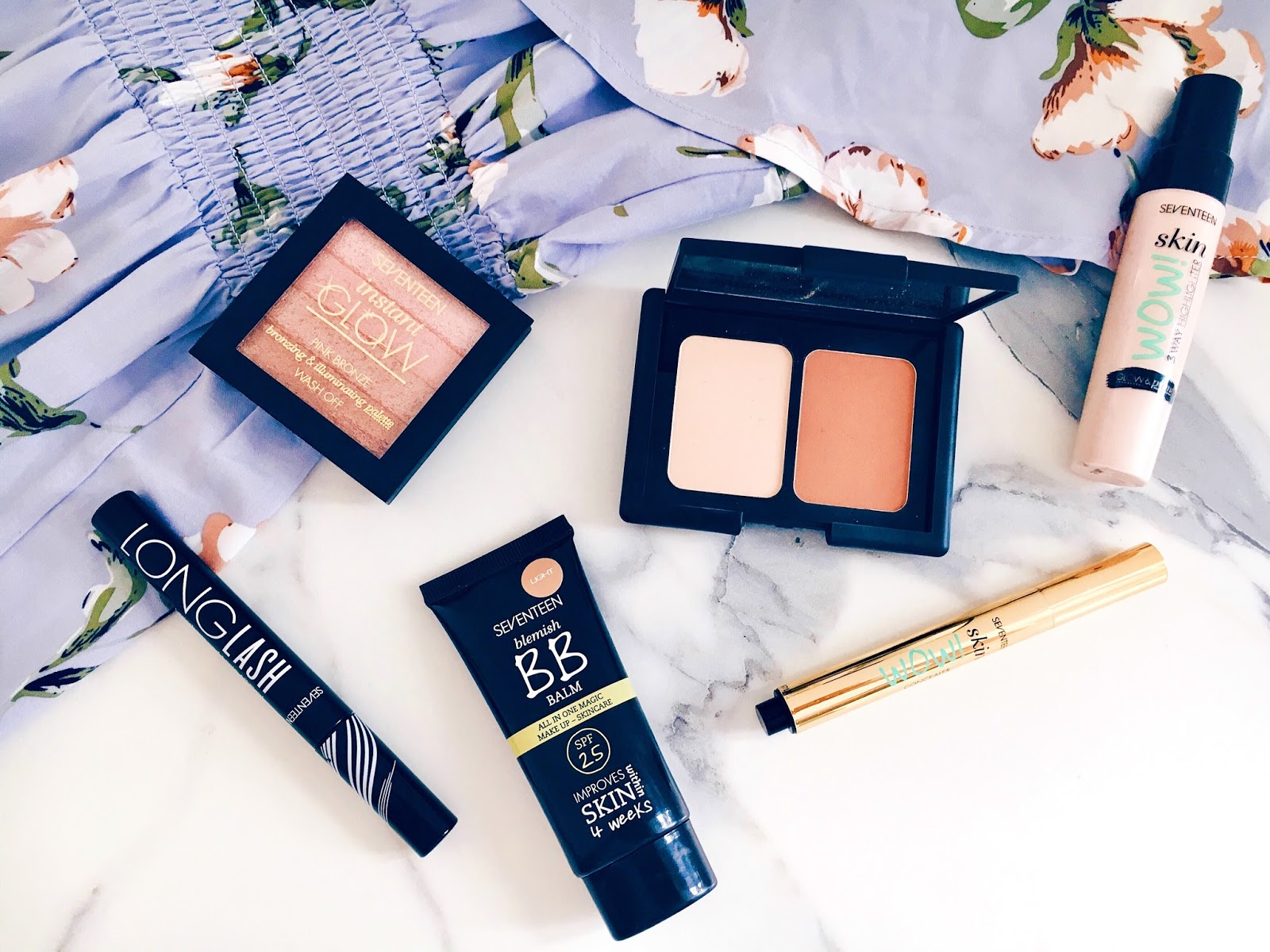 Achieving Bronzed, Glowing Makeup This Summer with Seventeen Cosmetics