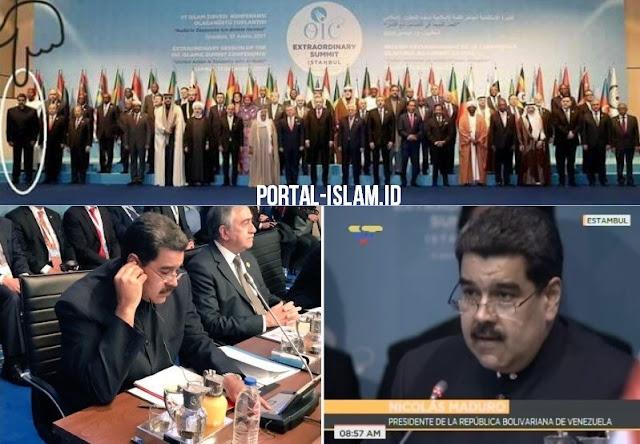 Presiden Venezuela yang Non-Muslim Hadir KTT OKI, Pemimpin Saudi-Mesir-UEA Malah Tidak Hadir
