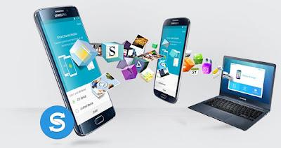 smartswitch da samsung transferindo informações entre aparelhos diferentes