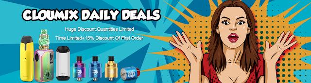 Eleaf Electronic Cigarette Promotion at cloumix