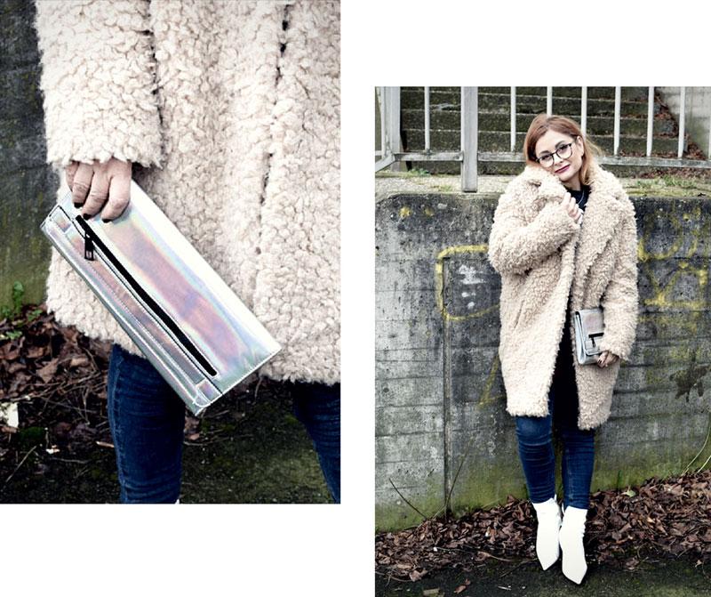 wozu trage ich weiße Steifeletten, weiße Leder Stiefel von H&M
