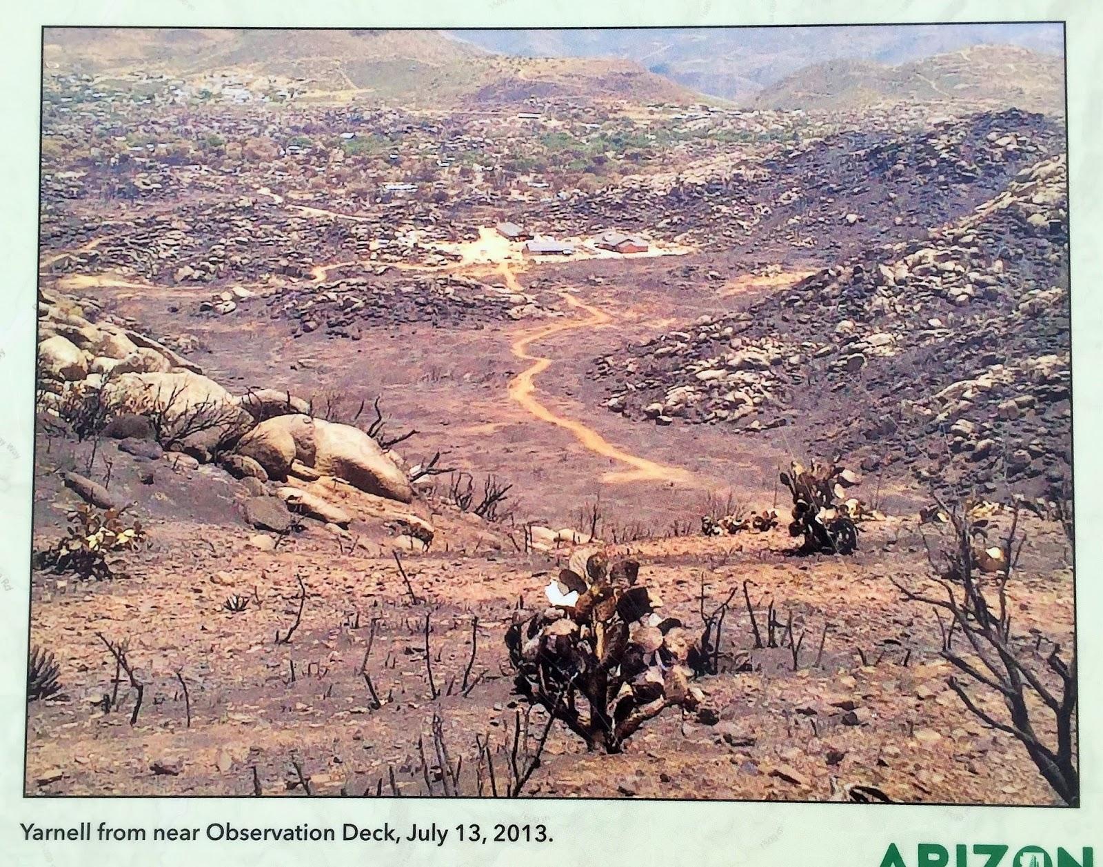 Down The Road Granite Mountain Hotshot Memorial Az Hike