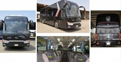 Layanan Transportasi Haji Kini Armada Terbaru
