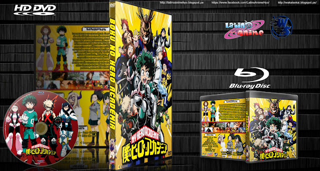 Boku no Hero Academia | Cover DVD - BD | Esp/Eng | MEGA |