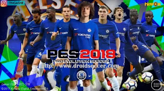 PES 2018 Mobile Mod CHELSEA Graphic by Itangashr