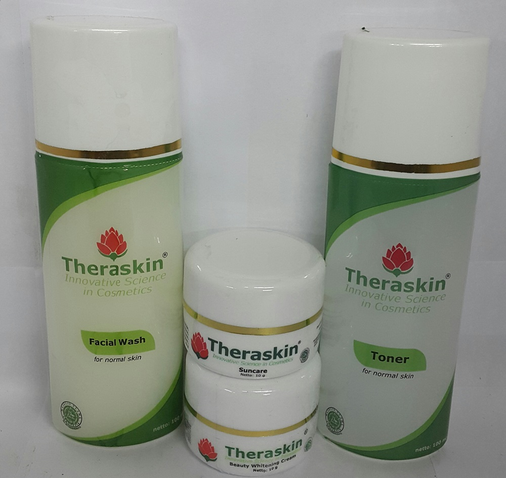 Paket Theraskin Cream Glowing 4 In 1 Original