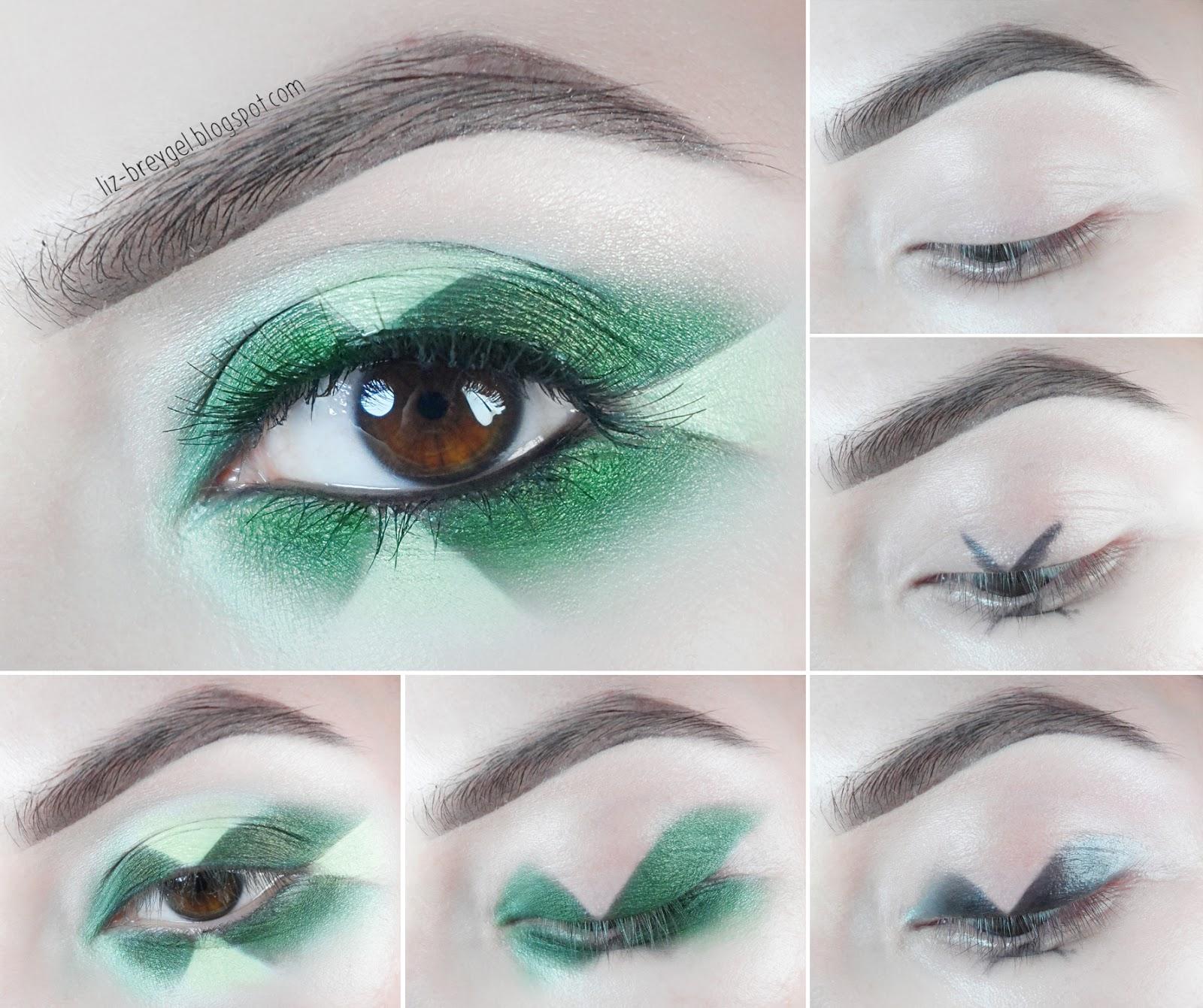 radiance Radiation eye makeup emerald step by step makeup birthstone look tutorial liz breygel