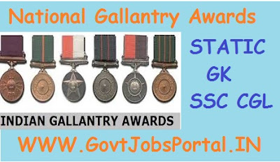 NATIONAL GALLANTRY AWARDS AND HONOURS IN INDIA