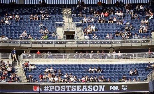 pennant race empty seats