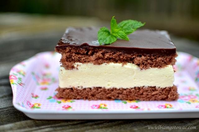 Ciasto Milky Way (Mleczna kanapka)