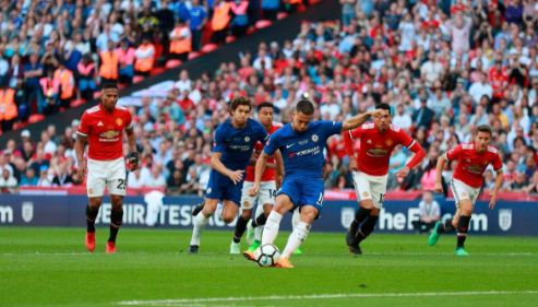HT: Chelsea vs Manchester United 1-0 Final Piala FA
