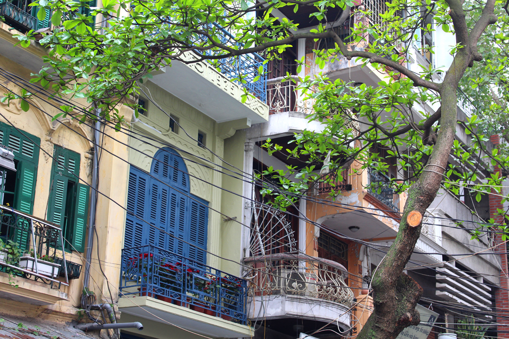 Hanoi architecture, Vietnam - lifestyle & travel blog