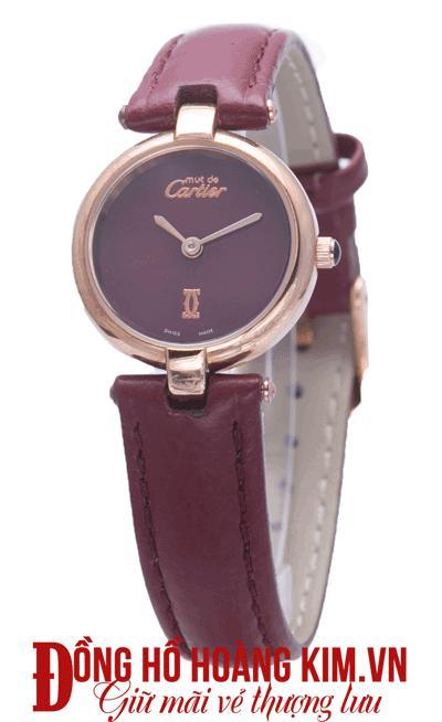 Đồng hồ nữ cartier mới sang trọng