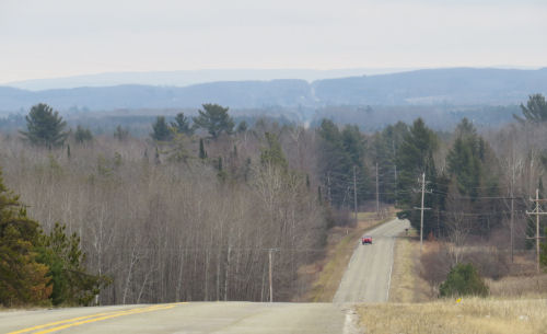view from 9-Mile Road