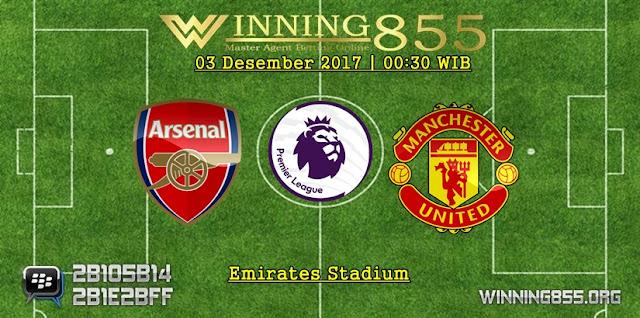 Prediksi Akurat Arsenal vs Manchester United 03 Desember 2017