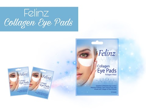 Review Felinz Collagen Eye Pads