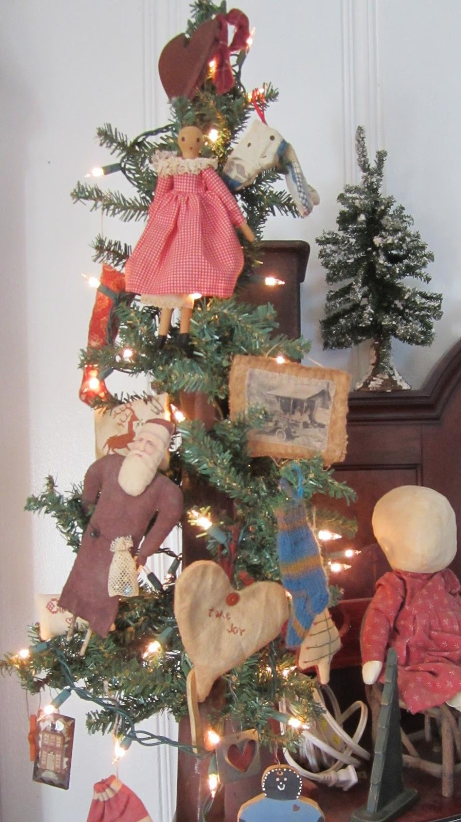 my primitive country christmas in california - Primitive Country Christmas Decorations