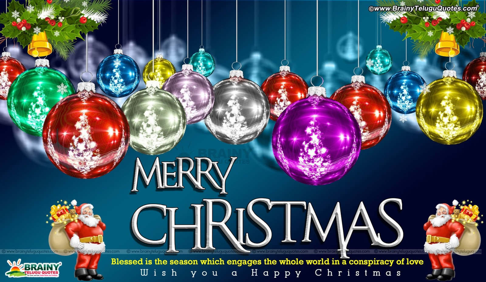 Merry Christmas Greetings With Inspirational Messages Christmas