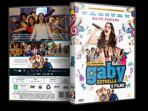 Capa DVD Gaby Estrella: O Filme [Custom]