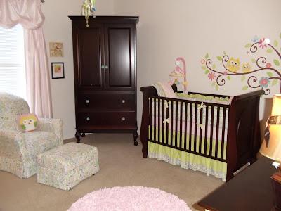 Greenville Baby Gorgeous Love Bird Nursery