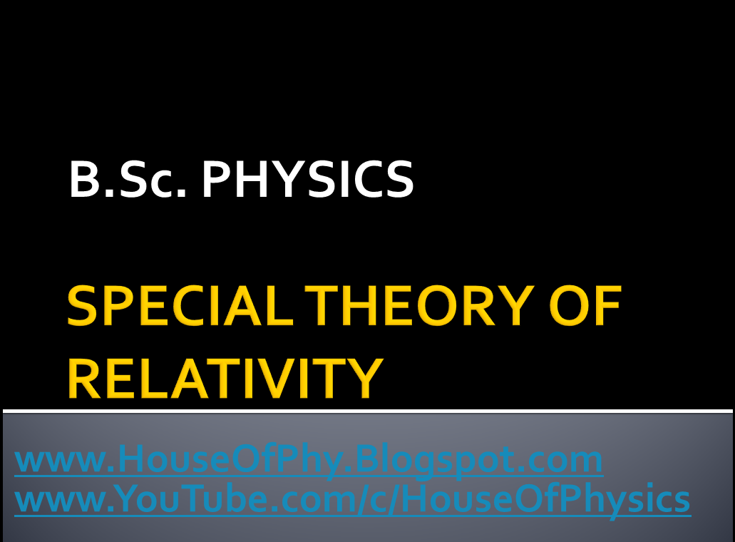 House of Physics: bsc physics mechanics notes pdf