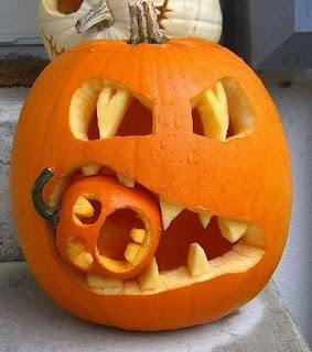 Kooky Pumpkin Carving Ideas