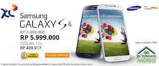 Promo Galaxy S4