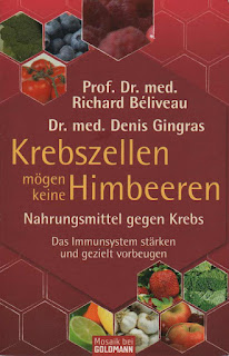 Buchcover: Krebszellen mögen keine Himbeeren