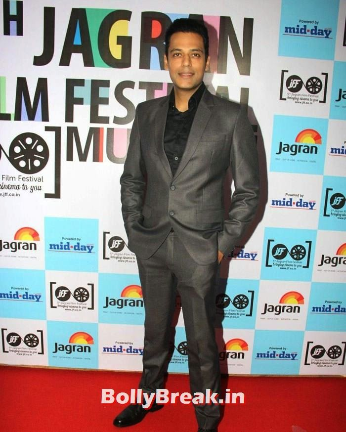 Sameer Kochhar, 5th Jagran Film Festival Red Carpet Pics
