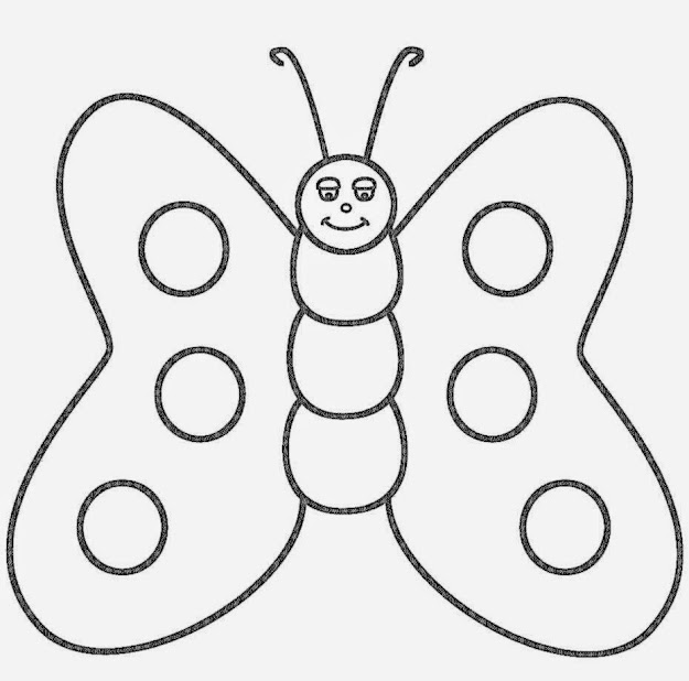 Butterfly Coloring Page With Butterfly Picture To Color Free Printable Pages