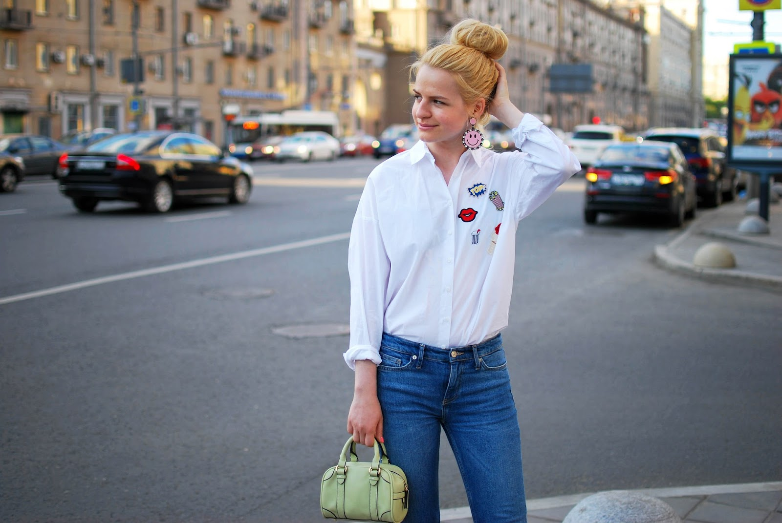 best russian fashion blog, street style pop art, what to wear in spring 2016