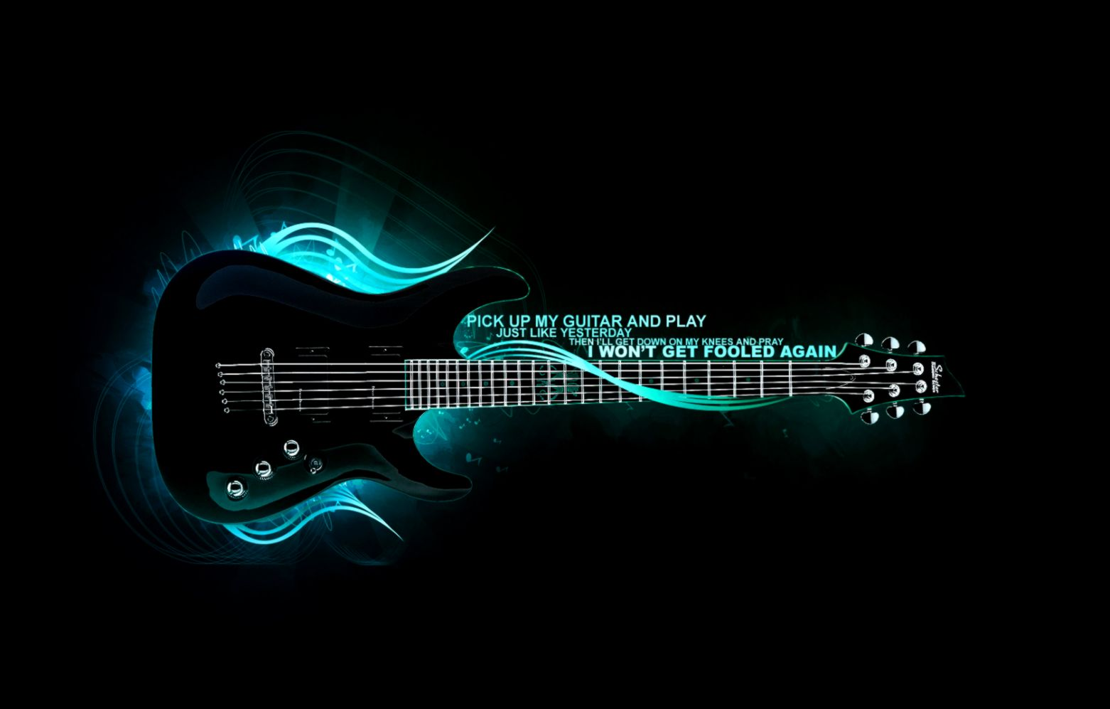 Guitar Black Music Hd Wallpaper The Champion Wallpapers