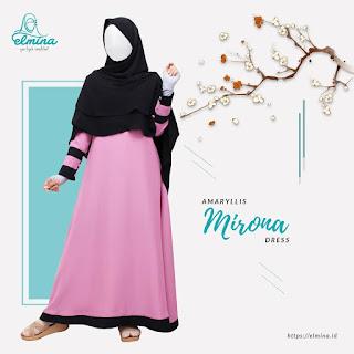 Gamis Syari Minora Elmina - Gamis Syari Elmina - Elmina Hijab