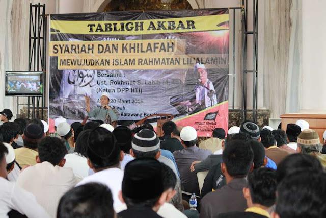 HTI Bandung Ingatkan Ulama Harus Bersatu Wujudkan Islam Rahmatan lil' Alamin
