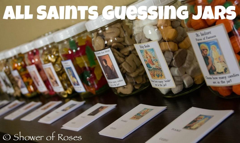 Catholic Cuisine All Saints Guessing Jars