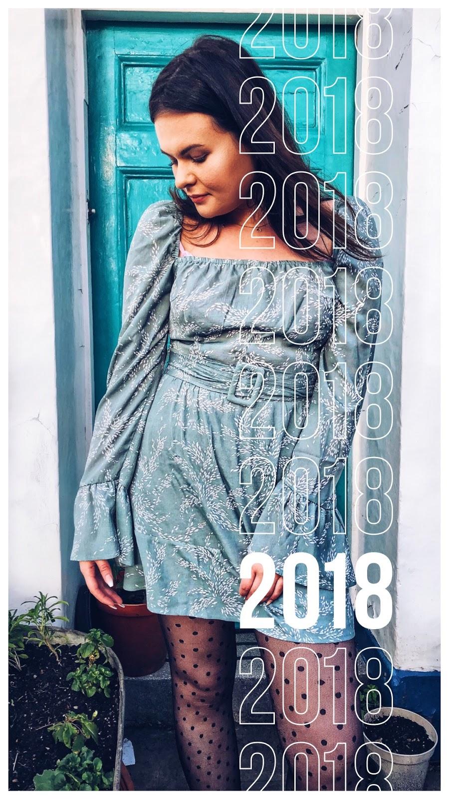 boohoo dress, looking back at 2018, fashion blogger, uk fashion blogger