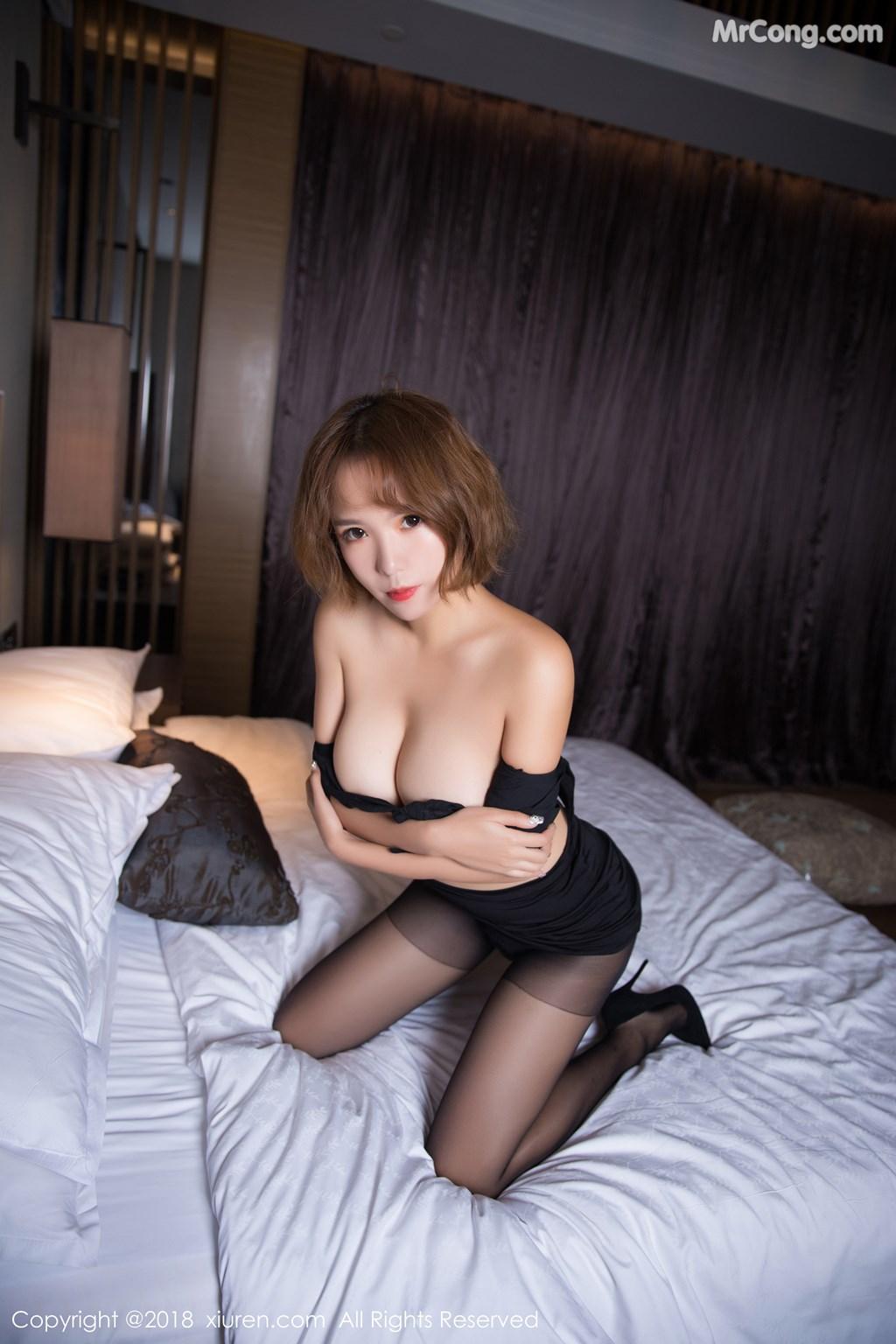 Image XIUREN-No.1264-Ya-Wen-MrCong.com-050 in post XIUREN No.1264: Người mẫu Ya Wen (雅雯) (61 ảnh)