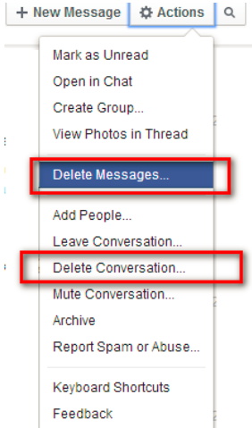 how to see messages you deleted on facebook